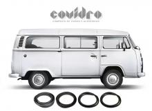 VW-BORRACHA JANELA LAT.FIXA KOMBI 1200/1500/CLIPPER