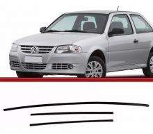 VW-BORRACHA PARABRISA GOL/PARATI 96 (FRISO INT.PVC-JG 3PCS);