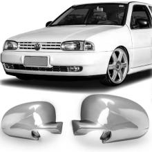 VW-CAPA RETROVISOR GOL BOLA 96 CROMADO LE