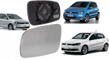 VW-LENTE ESPELHO FOX 09/ GOL G-VI/ POLO 2011/ LE C/SUPORTE