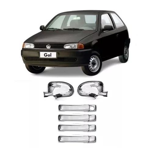VW-CAPA RETROVISOR GOL G-III /SANTANA /PAR /SAV /GOLF PRETA LE