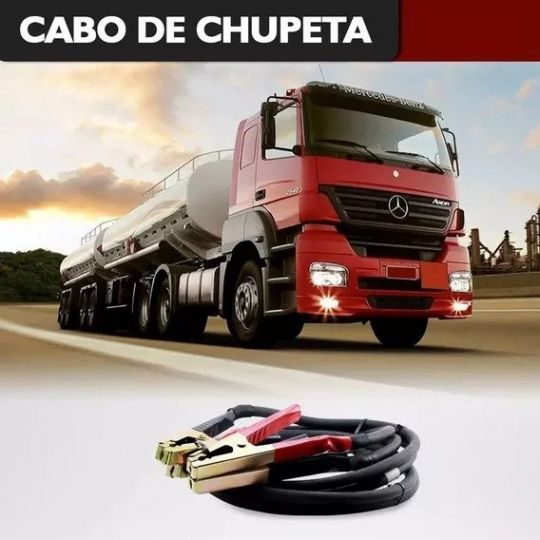 CABO BATERIA 16MM P /CHUPETA BOOSTER 3,5 MTS P /CAMINHAO