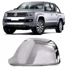 VW-BASE RETROVISOR AMAROK CROMADO LE