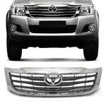 TOY-GRADE FRONTAL TOYOTA HILUX 2012/ HORIZONTAL COMPL.(2PCS);