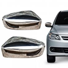 VW-CAPA RETROVISOR GOL G-V/SAVEIRO G-V LD CROMADO C/LUZ