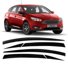 FORD-CALHA DE CHUVA ADESIVA FOCUS HATCH 2014/ 4PTS C/ 6PCSIN
