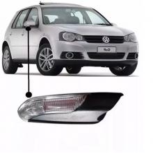 VW-ESPELHO RETROVISOR GOLF 2014/ ELET E AQUEC/LC/PISCA LD