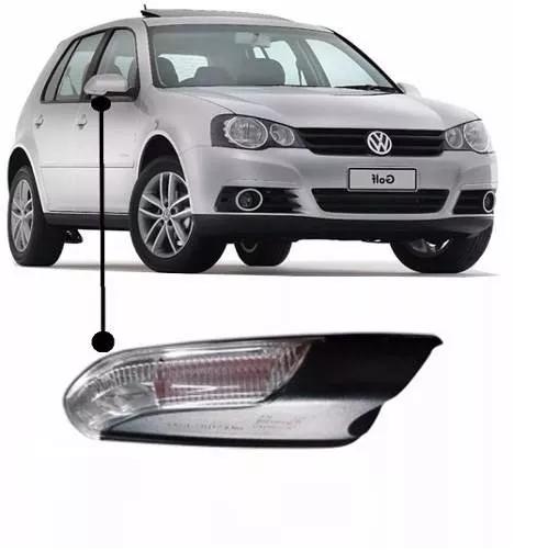 VW-ESPELHO RETROVISOR GOLF 2014 / ELET E AQUEC /LC /PISCA LD