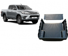 TOY-PROTETOR CACAMBA TOYOTA HILUX CD 2016 - TRUCK LINER