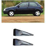 FORD-SPOILER LATERAL FIESTA 2PT 96/97 CINZA