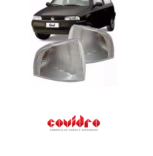 VW-LANTERNA DIANTEIRA ESQUERDA CRISTAL GOL /PARATI 95 /ED.SAVE