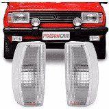 VW-LANTERNA DIANTEIRA DIREITA CRISTAL GOL/VOY/PAR/SAV. 82/86