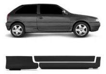 VW-SPOILER LATERAL GOL 95/98 PARATI 96/98 4PT PRETO TOP-LINE