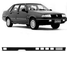 VW-REGUA PAINEL INSTR.SANTANA/QUANTUM 85/91 PRETA