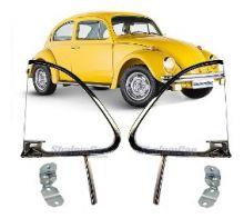 VW-VIDRO VENTILADOR ESQ/DIR.INCOLOR FUSCA 59/