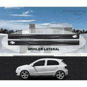 VW-SPOILER LATERAL GOL/PARATI 2000 G-III 4PT PRETO