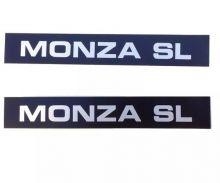 GM-PLAQUETA DO FRISO MONZA SL 87/89