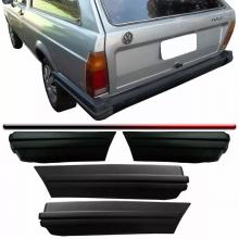 VW-PONTEIRA PARACHOQUE PARATI 84/86 (T.E);PRETA
