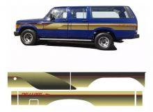 FAIXAS GM-D20/C20 90/93/94/96 CAB.DUPLA LONGA 4P