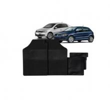 VW-TAPETE GOL VOYAGE PRETO 4PC