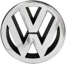 VW-EMBLEMA VW GRADE PASSAT/BRASILIA/GOL/VOY (CROMADO);