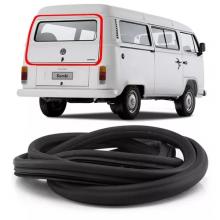 VW-BORRACHA TAMPA TRASEIRA KOMBI TODAS - 3PÇS BAGAGEIRO